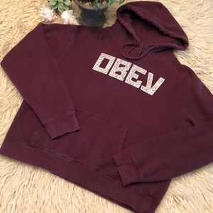 Wmns Obey brand hoodie